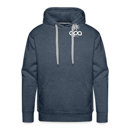 Hoodie with small white OPA logo - Men's Premium Hoodie