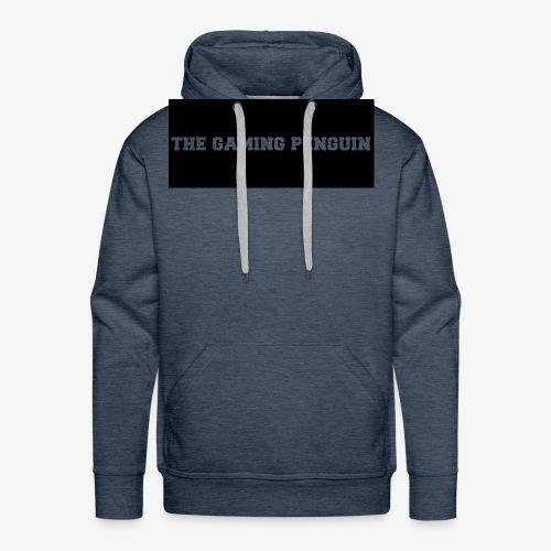 TheGamingPenguin Rectangle logo - Men's Premium Hoodie