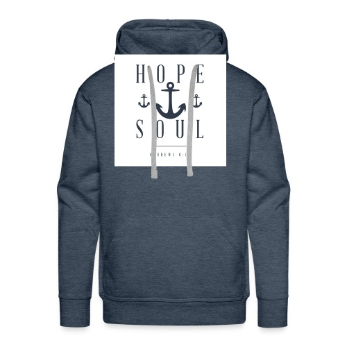Hebrews 6:19 - Men's Premium Hoodie