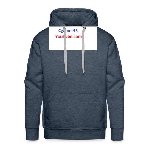 Cgamer93 long sleeve shirt man - Men's Premium Hoodie