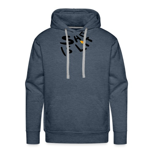 sh*t is lit - Men's Premium Hoodie