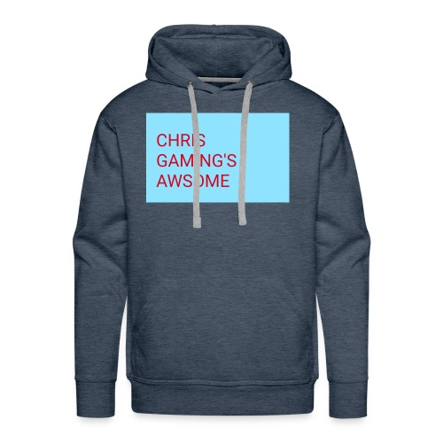 CHRIS GAMING'S AWSOME - Men's Premium Hoodie