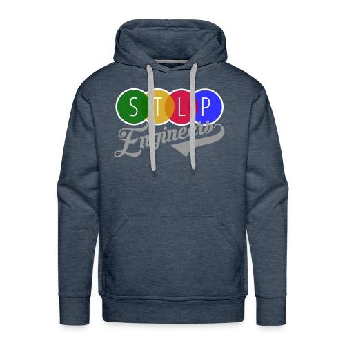 STLP Engineer Logo - Men's Premium Hoodie