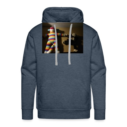 Monkey love - Men's Premium Hoodie