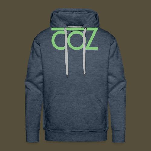 coz_logo_lightgreen - Men's Premium Hoodie