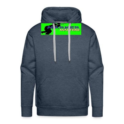 Marker Masters (Green) - Men's Premium Hoodie