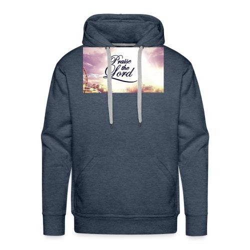 Praise The Lord T-Shirt - Men's Premium Hoodie