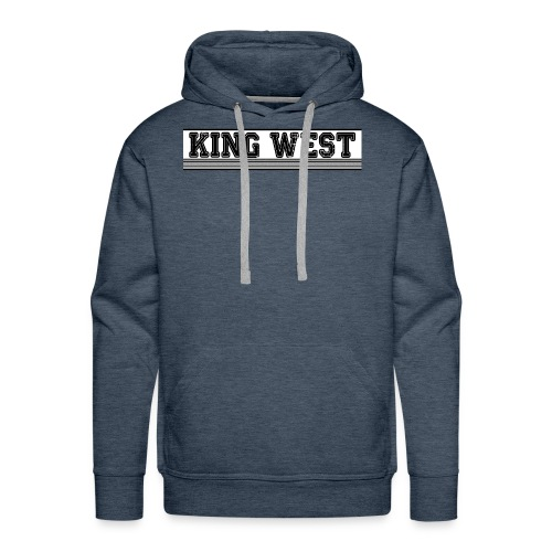 King West OG logo - Men's Premium Hoodie