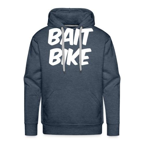 BAIT BIKE WHITE - Men's Premium Hoodie