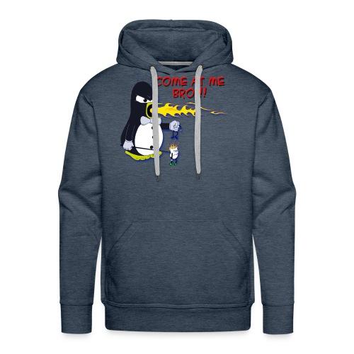 Guin - The P.O.'d Penguin - Men's Premium Hoodie