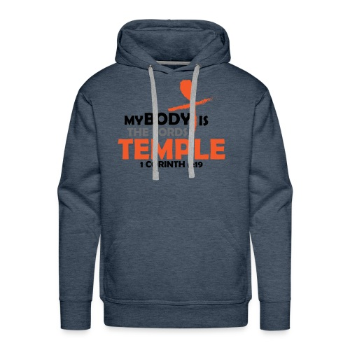 My body/Lords Temple - Men's Premium Hoodie