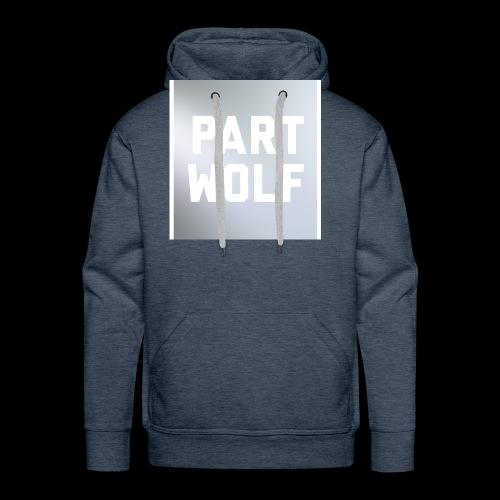 Part Wolf - Men's Premium Hoodie