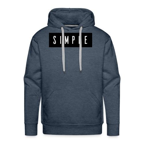 Simple - Men's Premium Hoodie