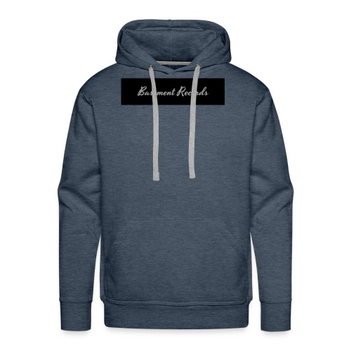 Basement Records - Men's Premium Hoodie