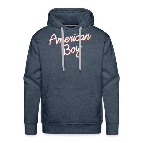 American Boy - Men's Premium Hoodie