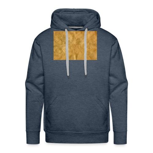 golden block rock - Men's Premium Hoodie