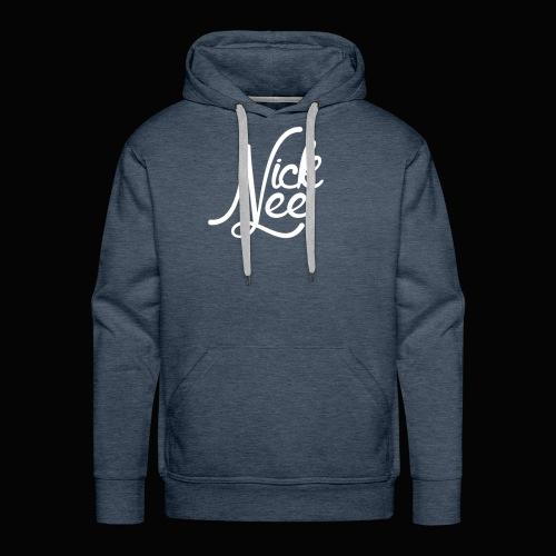 Nick Lee Logo - Men's Premium Hoodie