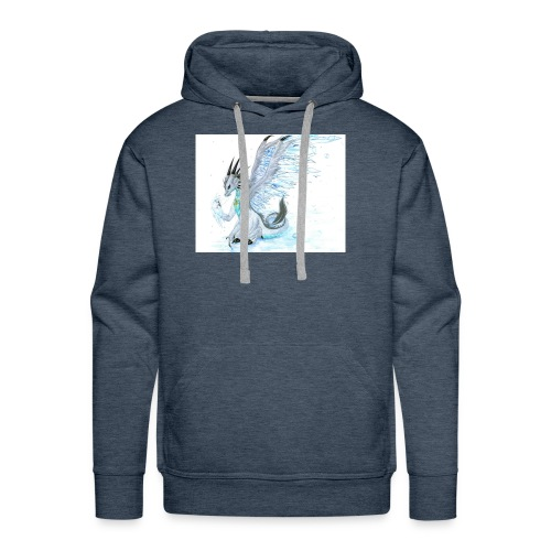 Little dude griffins and dragons 30659635 1004 791 - Men's Premium Hoodie