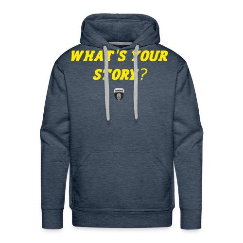 What's Your Story? - Men's Premium Hoodie