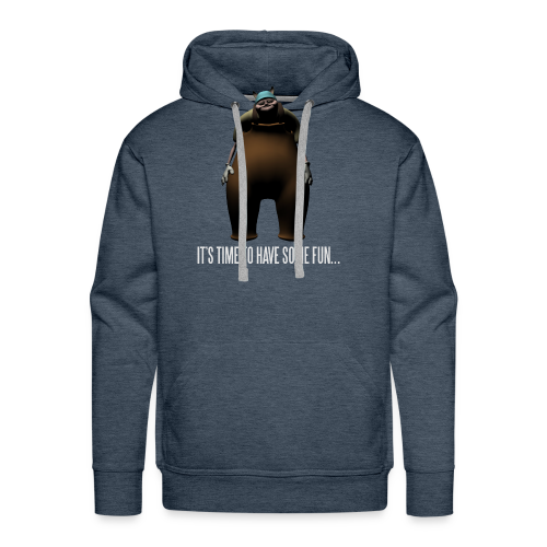 Uncle Samsonite It's Time to Have Some Fun - Men's Premium Hoodie