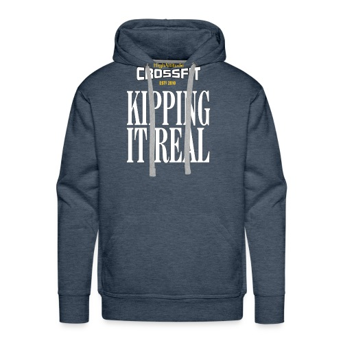 HACF KIPPING IT REAL - Men's Premium Hoodie