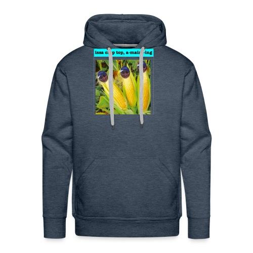 Crop Top - Men's Premium Hoodie