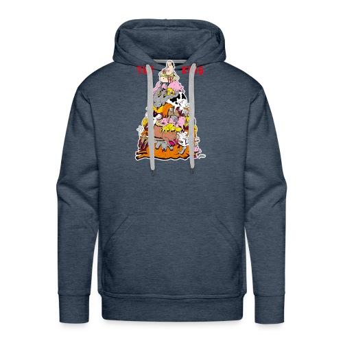 The King - Men's Premium Hoodie
