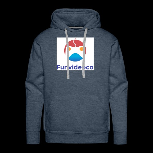 Fun Video Co logo - Men's Premium Hoodie