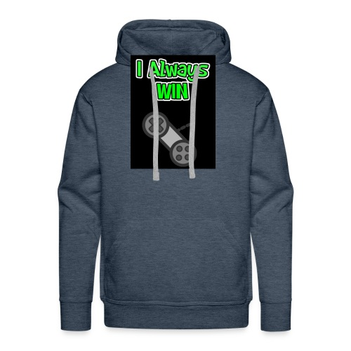I always win - Men's Premium Hoodie