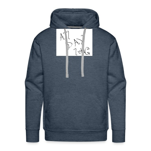 All Day Long - Men's Premium Hoodie