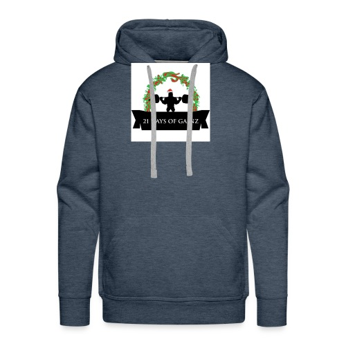 21 Days of Gains - Men's Premium Hoodie