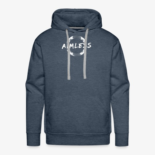 Aimless Clothing Logo - Men's Premium Hoodie