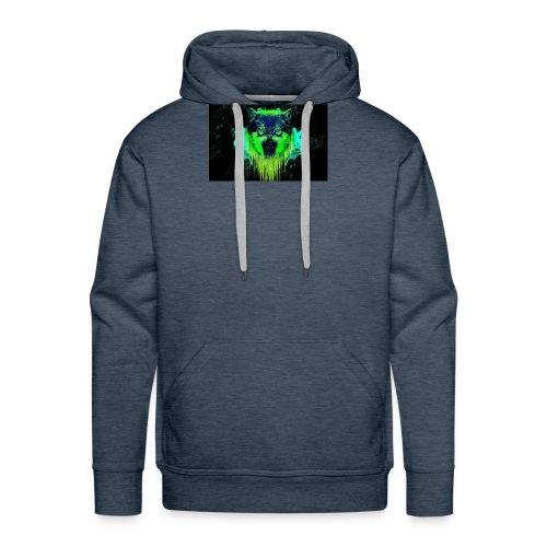 Neon Wolf - Men's Premium Hoodie
