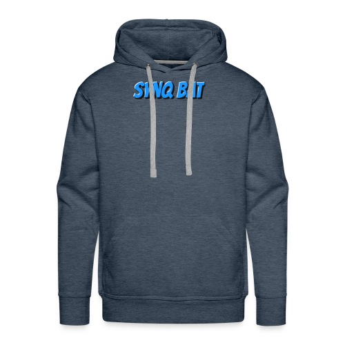 SynQ Bat - Cartoon Logo - Men's Premium Hoodie