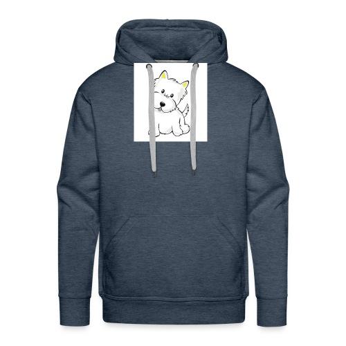 cute pup - Men's Premium Hoodie