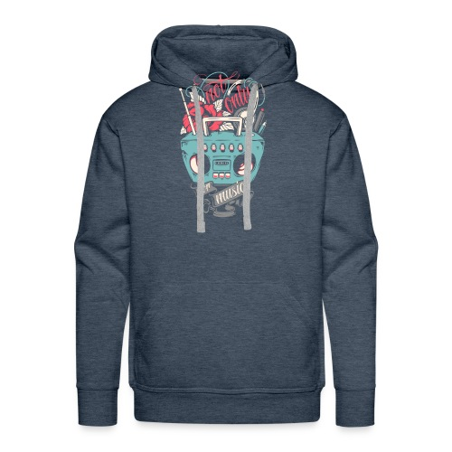 Not only for music - Men's Premium Hoodie