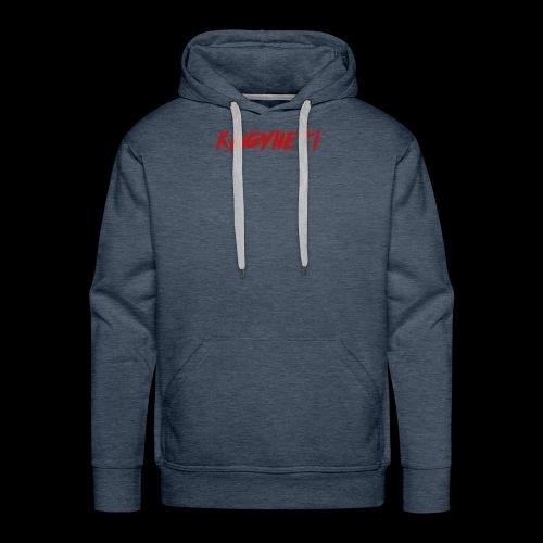 Red KingYheti Logo - Men's Premium Hoodie