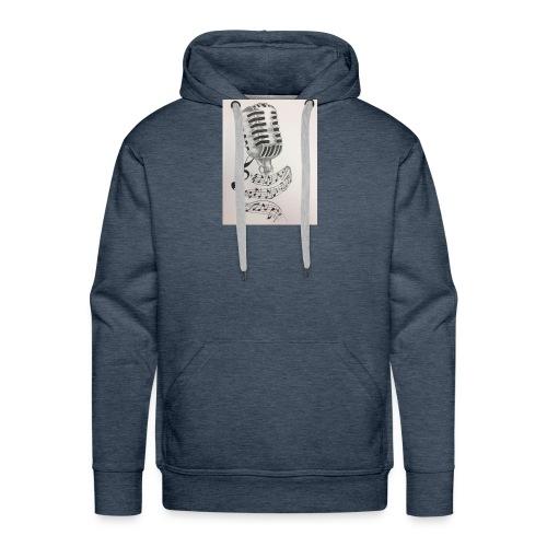 Microphone - Men's Premium Hoodie
