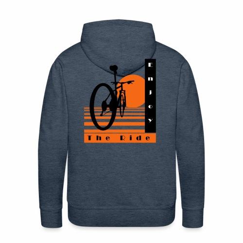 Bicycle Cool Ride T-Shirt - Men's Premium Hoodie