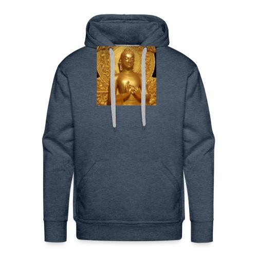 golden buddha - Men's Premium Hoodie