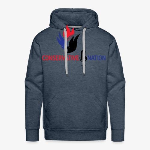 Conservative Nation Double Eagle Collaboration - Men's Premium Hoodie