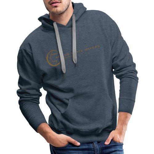 AMMT Logo Modern Look - Men's Premium Hoodie