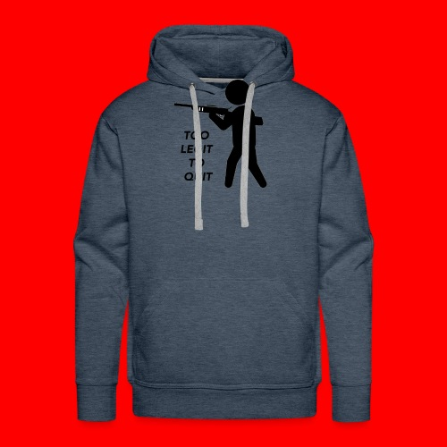 OxyGang: Too Legit To Quit Products - Men's Premium Hoodie