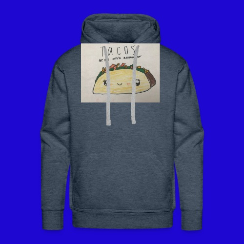 Tacos are my Spirit Animal - Men's Premium Hoodie