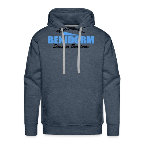 What happens in Benidorm - Men's Premium Hoodie