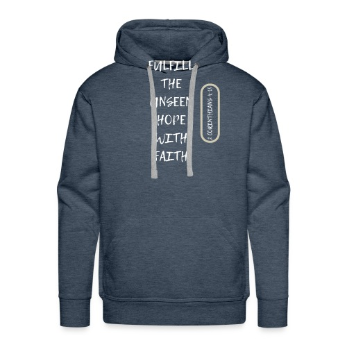 HOPE WITH FAITH - Men's Premium Hoodie