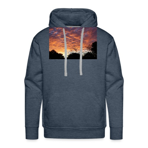 Sunset and light - Men's Premium Hoodie