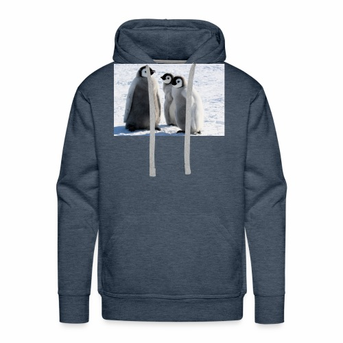 the penguin - Men's Premium Hoodie