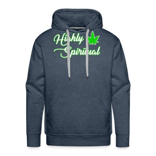 Highly Spiritual Logo - Men's Premium Hoodie