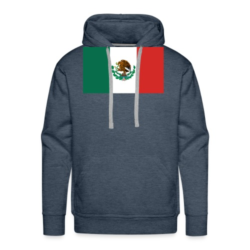 Mexican flag - Men's Premium Hoodie